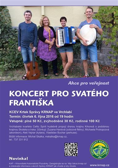 Koncert pro sv. Františka