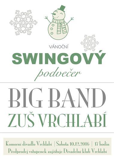 Vánoční swingový podvečer s Big Bandem